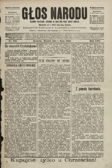 Głos Narodu : dziennik polityczny, założony w roku 1893 przez Józefa Rogosza (wydanie wieczorne). 1900, nr100