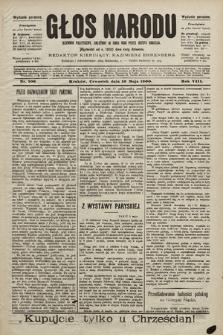 Głos Narodu : dziennik polityczny, założony w roku 1893 przez Józefa Rogosza (wydanie poranne). 1900, nr106