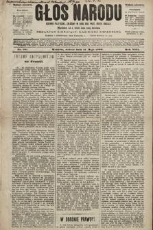 Głos Narodu : dziennik polityczny, założony w roku 1893 przez Józefa Rogosza (wydanie wieczorne). 1900, nr107