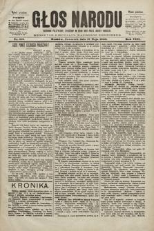 Głos Narodu : dziennik polityczny, założony w roku 1893 przez Józefa Rogosza (wydanie południowe). 1900, nr112