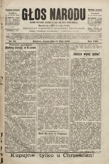 Głos Narodu : dziennik polityczny, założony w roku 1893 przez Józefa Rogosza (wydanie poranne). 1900, nr114