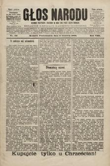 Głos Narodu : dziennik polityczny, założony w roku 1893 przez Józefa Rogosza (wydanie południowe). 1900, nr131