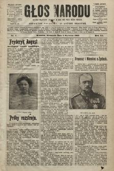 Głos Narodu : dziennik polityczny, założony w roku 1893 przez Józefa Rogosza (wydanie poranne). 1903, nr4