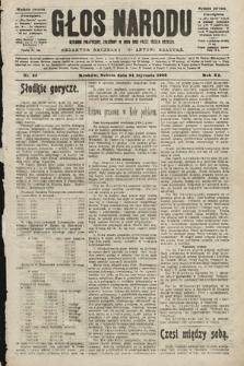 Głos Narodu : dziennik polityczny, założony w roku 1893 przez Józefa Rogosza (wydanie poranne). 1903, nr24