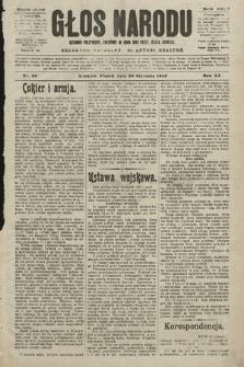 Głos Narodu : dziennik polityczny, założony w roku 1893 przez Józefa Rogosza (wydanie poranne). 1903, nr30