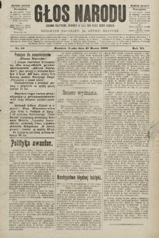 Głos Narodu : dziennik polityczny, założony w roku 1893 przez Józefa Rogosza (wydanie poranne). 1903, nr83