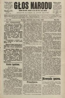 Głos Narodu : dziennik polityczny, założony w roku 1893 przez Józefa Rogosza (wydanie poranne). 1903, nr120