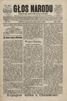 Głos Narodu : dziennik polityczny, założony w roku 1893 przez Józefa Rogosza (wydanie południowe). 1900, nr153