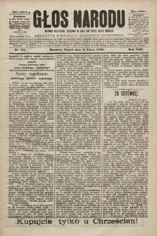 Głos Narodu : dziennik polityczny, założony w roku 1893 przez Józefa Rogosza (wydanie południowe). 1900, nr157