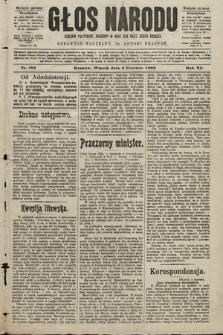Głos Narodu : dziennik polityczny, założony w roku 1893 przez Józefa Rogosza (wydanie poranne). 1903, nr156