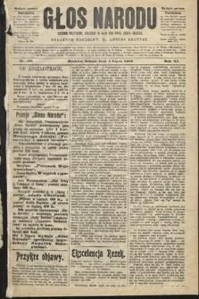 Głos Narodu : dziennik polityczny, założony w roku 1893 przez Józefa Rogosza (wydanie poranne). 1903, nr180