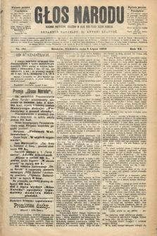 Głos Narodu : dziennik polityczny, założony w roku 1893 przez Józefa Rogosza (wydanie poranne). 1903, nr181