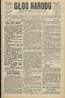 Głos Narodu : dziennik polityczny, założony w roku 1893 przez Józefa Rogosza (wydanie poranne). 1903, nr188