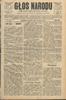 Głos Narodu : dziennik polityczny, założony w roku 1893 przez Józefa Rogosza (wydanie poranne). 1903, nr199