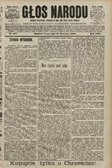 Głos Narodu : dziennik polityczny, założony w roku 1893 przez Józefa Rogosza (wydanie południowe). 1900, nr207