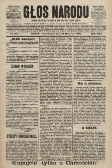 Głos Narodu : dziennik polityczny, założony w roku 1893 przez Józefa Rogosza (wydanie południowe). 1900, nr217