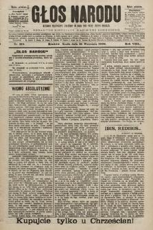 Głos Narodu : dziennik polityczny, założony w roku 1893 przez Józefa Rogosza (wydanie południowe). 1900, nr219