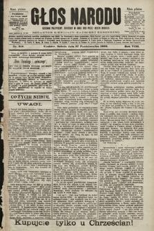 Głos Narodu : dziennik polityczny, założony w roku 1893 przez Józefa Rogosza (wydanie południowe). 1900, nr246