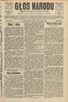Głos Narodu : dziennik polityczny, założony w roku 1893 przez Józefa Rogosza (wydanie poranne). 1903, nr253