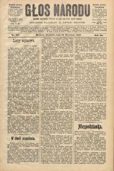 Głos Narodu : dziennik polityczny, założony w roku 1893 przez Józefa Rogosza (wydanie poranne). 1903, nr257