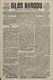 Głos Narodu : dziennik polityczny, założony w roku 1893 przez Józefa Rogosza (wydanie południowe). 1900, nr254