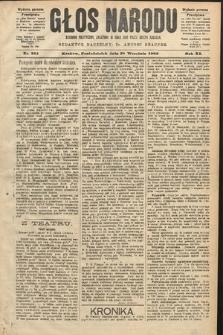 Głos Narodu : dziennik polityczny, założony w roku 1893 przez Józefa Rogosza (wydanie poranne). 1903, nr265