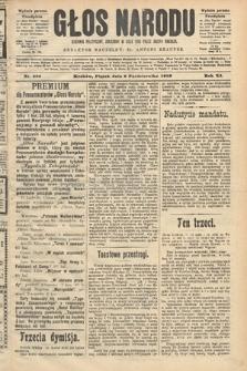 Głos Narodu : dziennik polityczny, założony w roku 1893 przez Józefa Rogosza (wydanie poranne). 1903, nr269