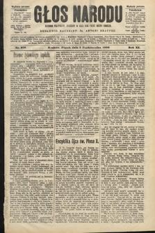 Głos Narodu : dziennik polityczny, założony w roku 1893 przez Józefa Rogosza (wydanie poranne). 1903, nr276
