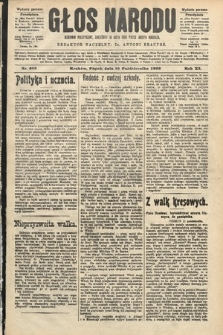 Głos Narodu : dziennik polityczny, założony w roku 1893 przez Józefa Rogosza (wydanie poranne). 1903, nr283