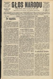 Głos Narodu : dziennik polityczny, założony w roku 1893 przez Józefa Rogosza (wydanie poranne). 1903, nr288