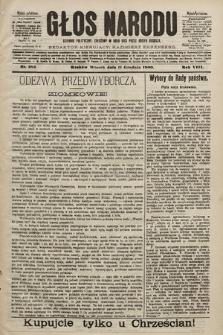 Głos Narodu : dziennik polityczny, założony w roku 1893 przez Józefa Rogosza (wydanie południowe). 1900, nr282
