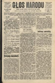 Głos Narodu : dziennik polityczny, założony w roku 1893 przez Józefa Rogosza (wydanie poranne). 1903, nr299