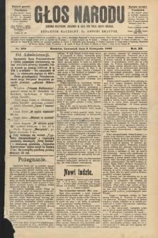 Głos Narodu : dziennik polityczny, założony w roku 1893 przez Józefa Rogosza (wydanie poranne). 1903, nr303