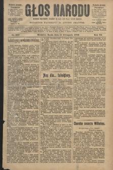 Głos Narodu : dziennik polityczny, założony w roku 1893 przez Józefa Rogosza (wydanie poranne). 1903, nr309