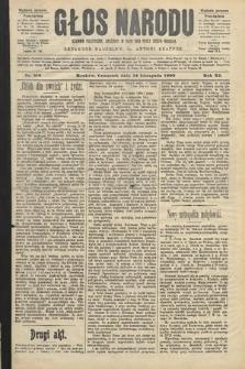 Głos Narodu : dziennik polityczny, założony w roku 1893 przez Józefa Rogosza (wydanie poranne). 1903, nr310