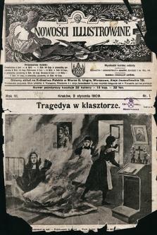Nowości Illustrowane. 1909, nr1