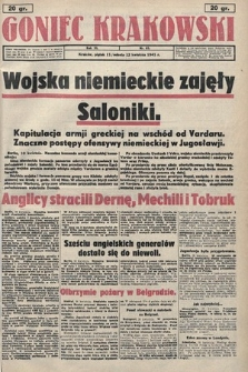 Goniec Krakowski. 1941, nr85
