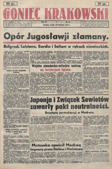 Goniec Krakowski. 1941, nr87