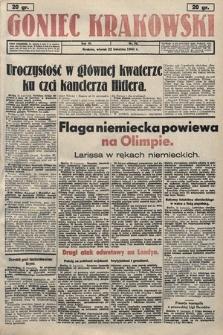 Goniec Krakowski. 1941, nr92