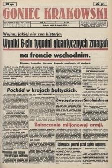 Goniec Krakowski. 1941, nr184