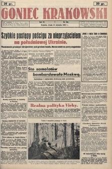 Goniec Krakowski. 1941, nr188