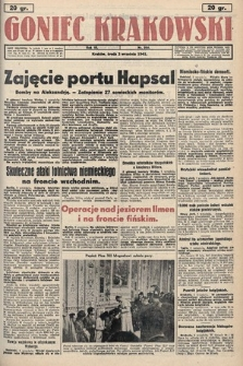 Goniec Krakowski. 1941, nr206