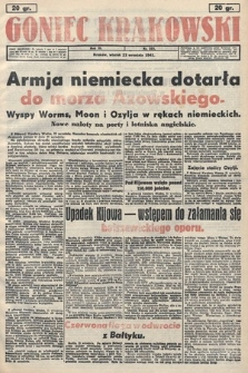 Goniec Krakowski. 1941, nr223