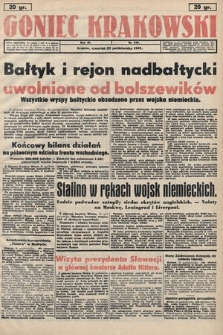 Goniec Krakowski. 1941, nr249