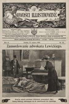 Nowości Illustrowane. 1909, nr24