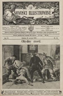 Nowości Illustrowane. 1909, nr25