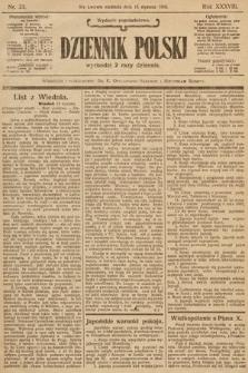 Dziennik Polski (wydanie popołudniowe). 1905, nr23