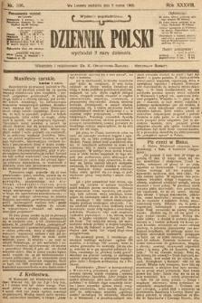 Dziennik Polski (wydanie popołudniowe). 1905, nr106