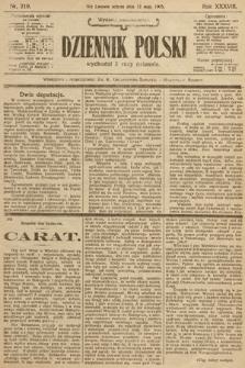 Dziennik Polski (wydanie popołudniowe). 1905, nr219