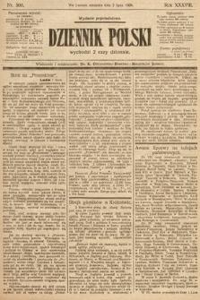 Dziennik Polski (wydanie popołudniowe). 1905, nr300